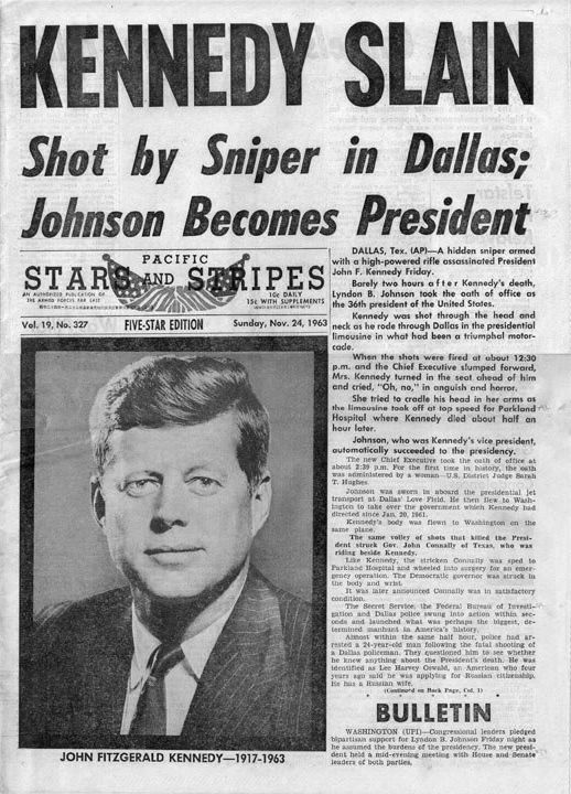 an analysis of the assassination of john f kennedy a united states president President john f kennedy was the 35 th president of the united states and has had a  the media coverage and analysis of kennedy's speech.