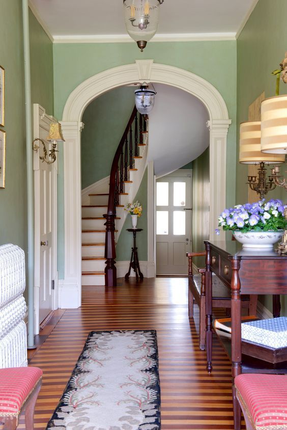 Foyer Stairs Review : Decor design review underfoot hallway designs