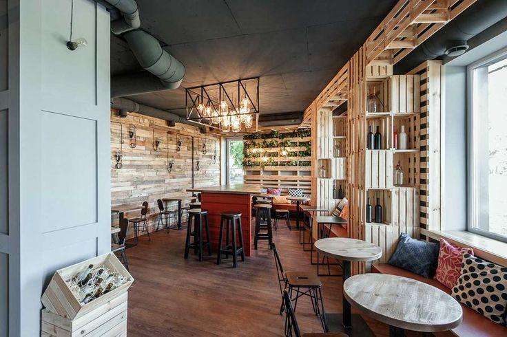 Penka Coffee Bar - Soffitto Nero