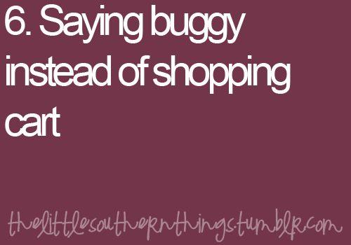 We Say Buggy...