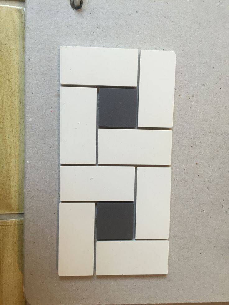 Like the clean lines of this. For backsplash or bathroom.