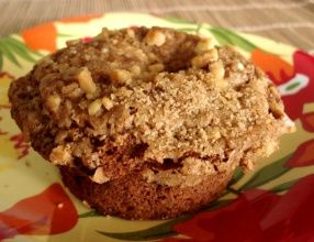 Banana oatmeal muffins...I made these with coconut oil instead of butter.  And gluten free flour, so that my son could eat them.  Yum! I like these because they are not overly sweet.  Perfect for a weekend breakfast.