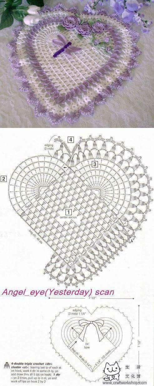 4234 best crochet images on Pinterest | Filet crochet, Crocheting ...