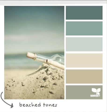 My dining room colours from Farrow & Ball (shaded white, stoney ground, pale powder, teresa's green). by proteamundi