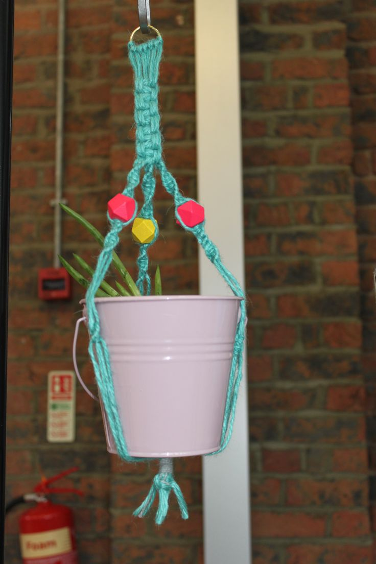 Macrame at The Biscuit Factory
