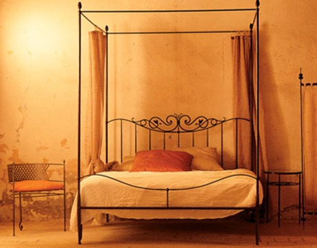 Ziro Baldacchino canopy bed -  Available through designers from TUSCAN HILLS, 609-921-9015.