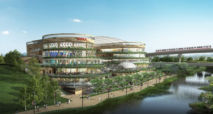 3D Architectural Rendering for Punggol SAFRA Singapore. A Family community Initiative by Singapore Armed Forces for Both NSman as well as Active Defence Personnel.