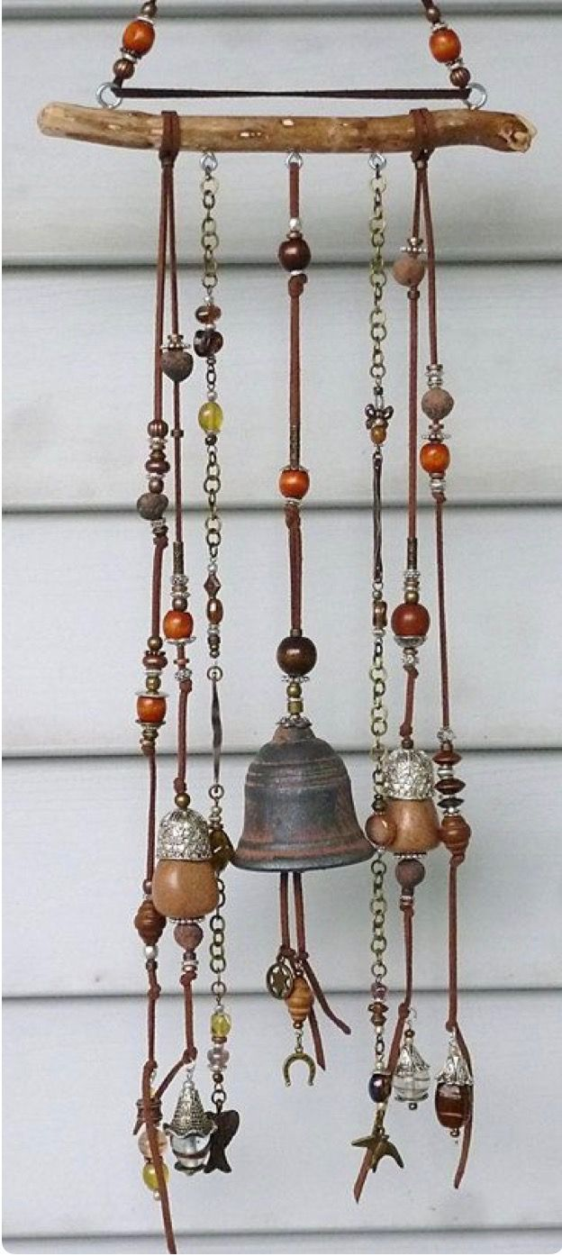 windchime wind chimes pinterest carillon bracelet bouton et artisanat am rindien. Black Bedroom Furniture Sets. Home Design Ideas