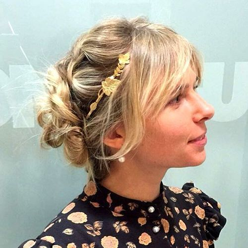 twisted+updo+with+bangs+for+medium+hair
