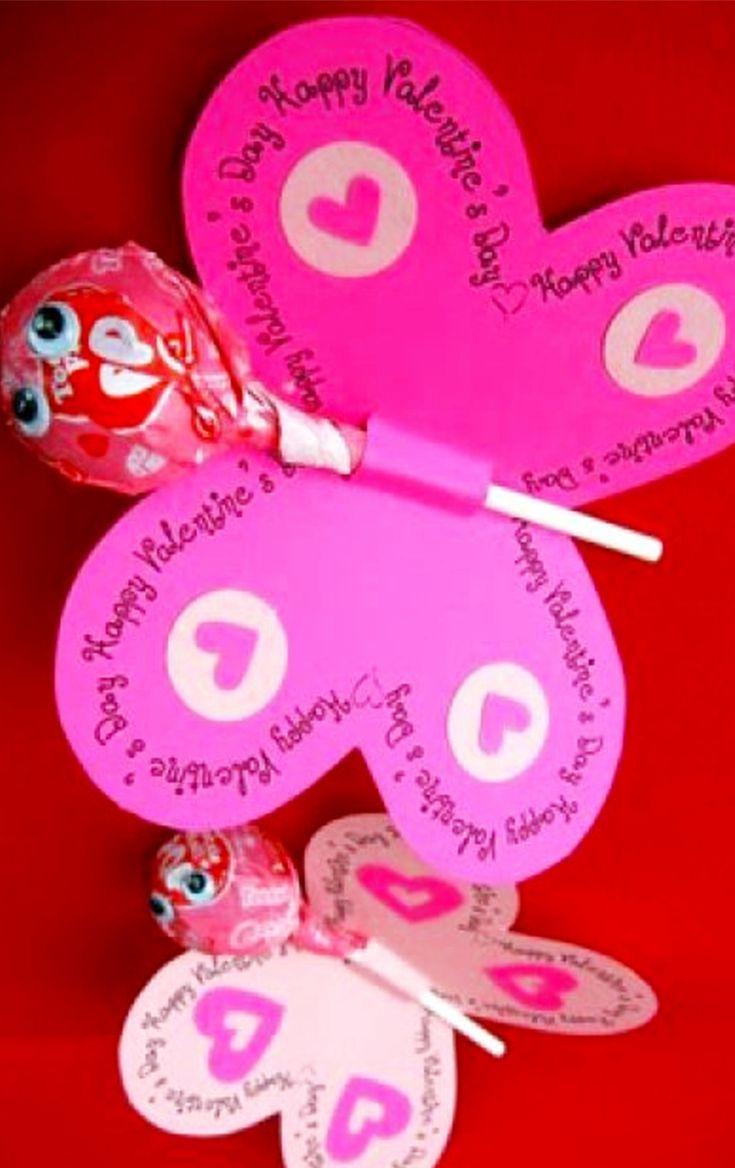 Diy School Valentine Cards For Classmates And Teachers Simple