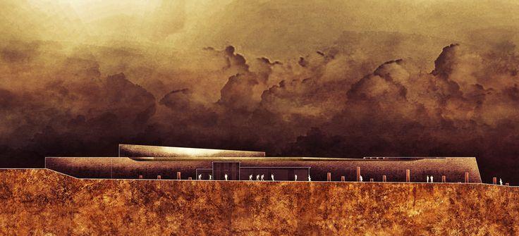 Bailey ,Chania waterfront, Creta. University of Genova 2014, concept.  M. Di Sibio, G.Grasso