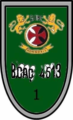1ª Companhia de Caçadores do Batalhão de Caçadores 4513 Guiné