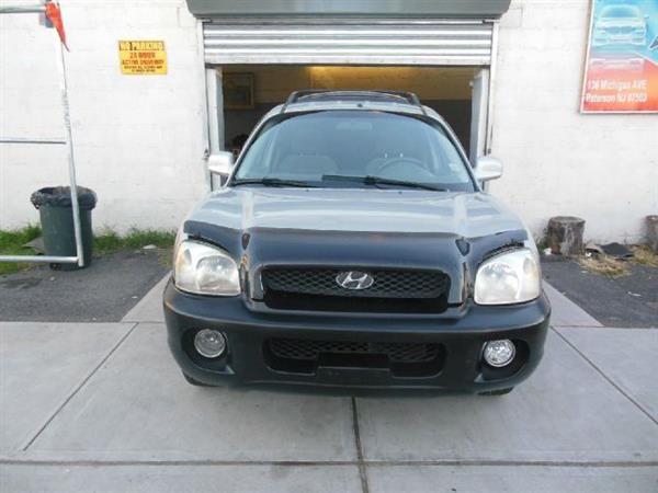 Make:  Hyundai Model:  Santa Fe Year:  2003 Body Style:  Tractor Exterior Color: Silver Interior Color: Black Vehicle Condition: Excellent Contact: 973 925 5626    For More Info Visit: http://UnitedCarExchange.com/a1/2003-Hyundai-Santa%20Fe-972060444240
