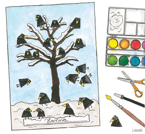 162 best tiere im winter images on pinterest elementary - Winter basteln im kindergarten ...