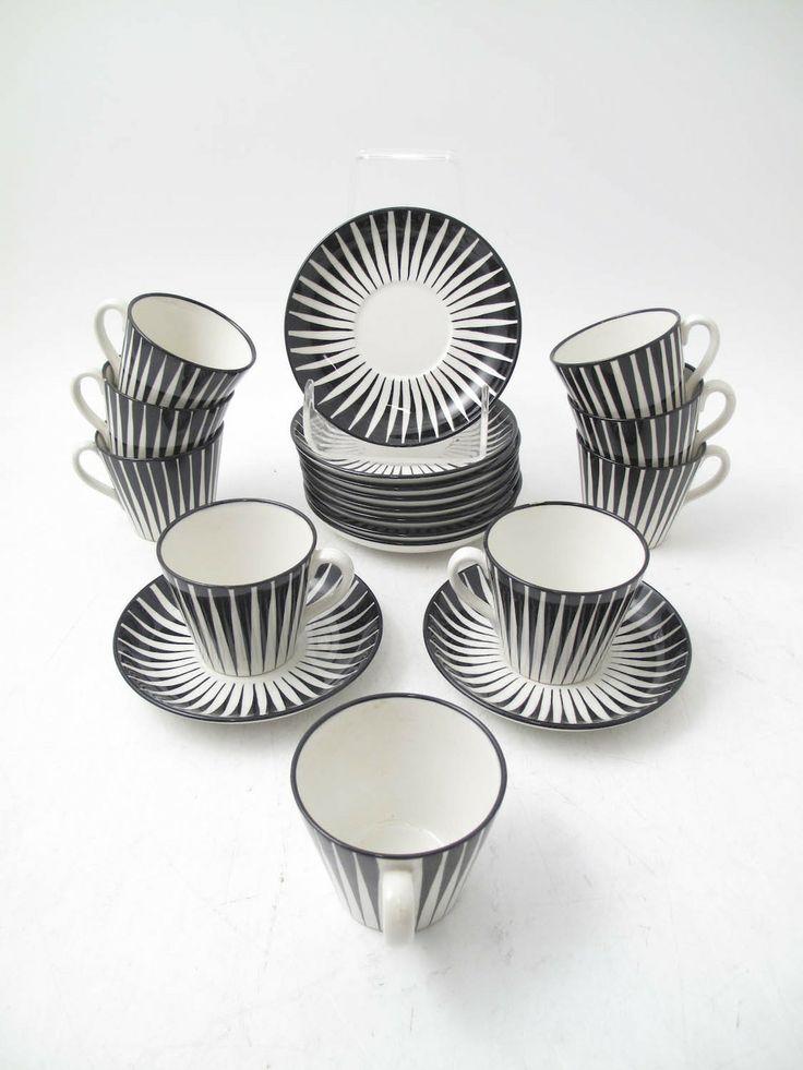 Zebra porcelain by Eugen Trost