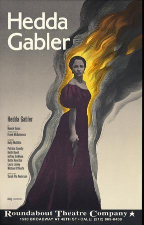 Hedda Gabler.Roundabout Theatre Company. 1994