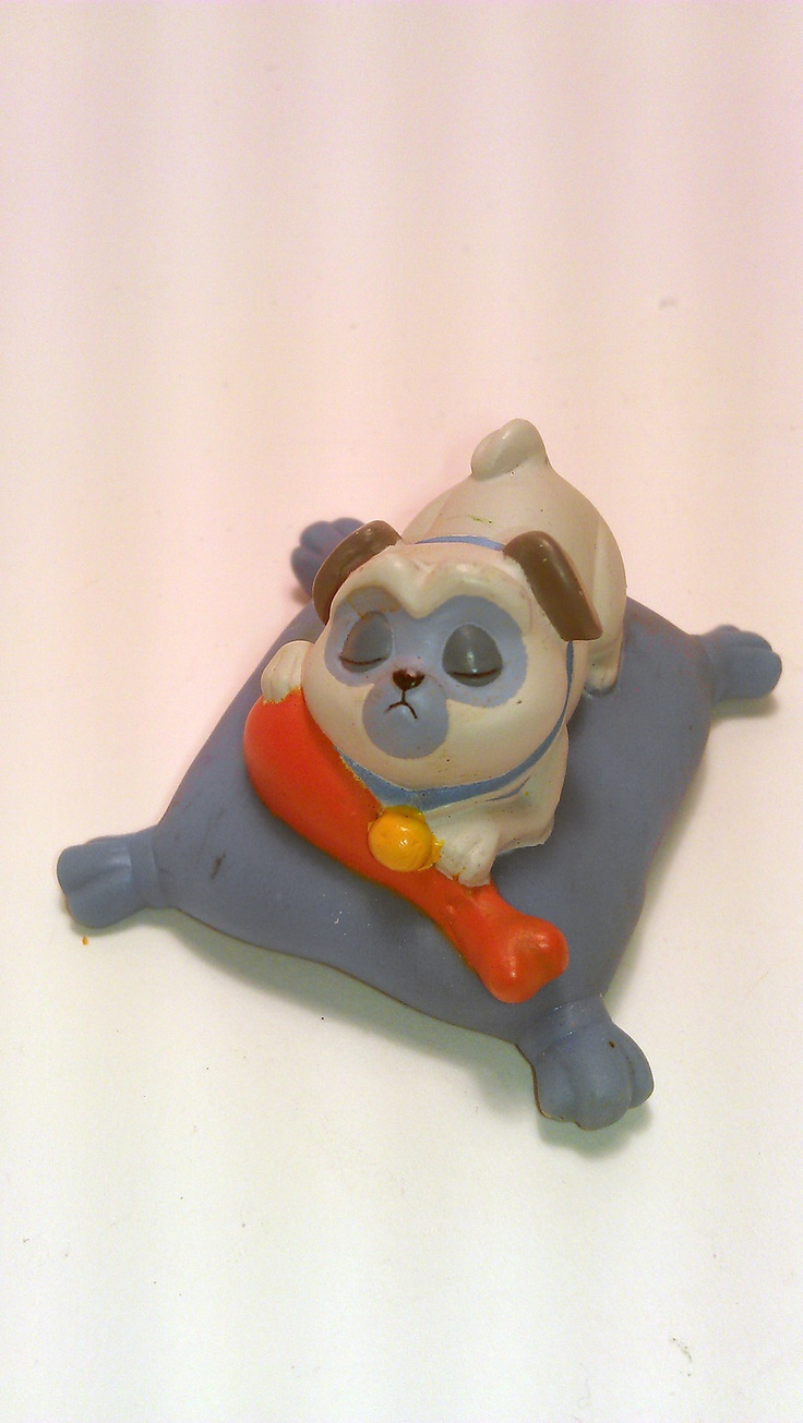 Percy The Pug Dog Pocahontas Disney Figure Toy Collectible Cake Topper Vinyl PVC | eBay