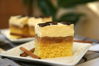 Miremirc - Prajitura cu mere si vanilie