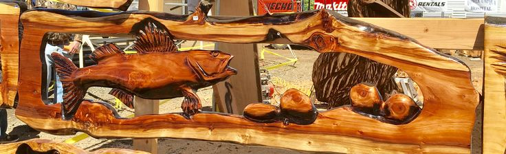 Chainsaw Carving World Championships  Reedsport Oregon USA 2017