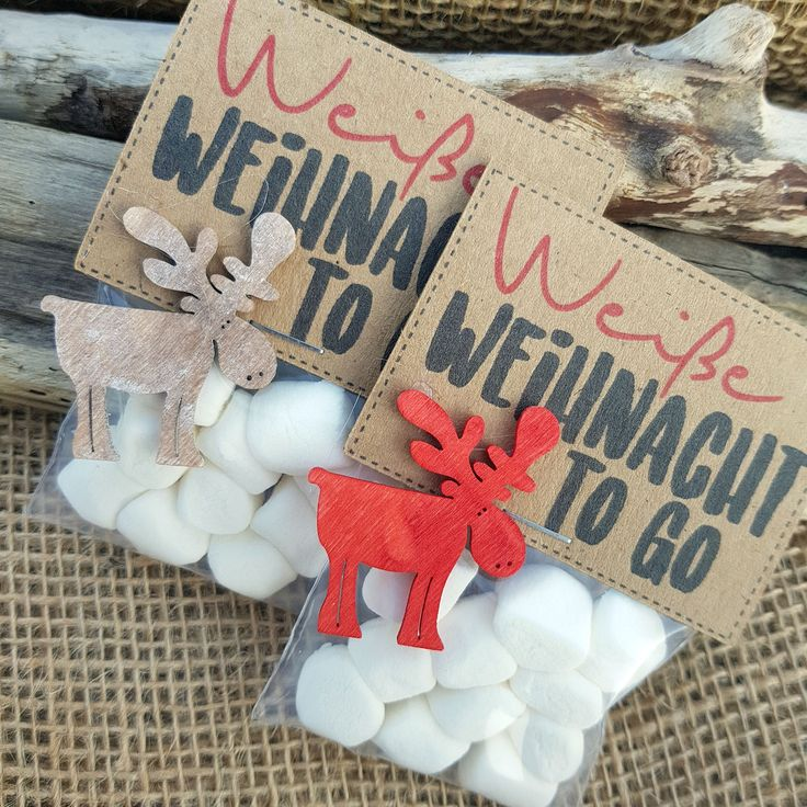 "5 pieces of Christmas gift ""White Christmas"" gift, Christmas, Santa Claus, vintage, trifle, St. Nicholas gift, Advent, DIY, Kraft paper"