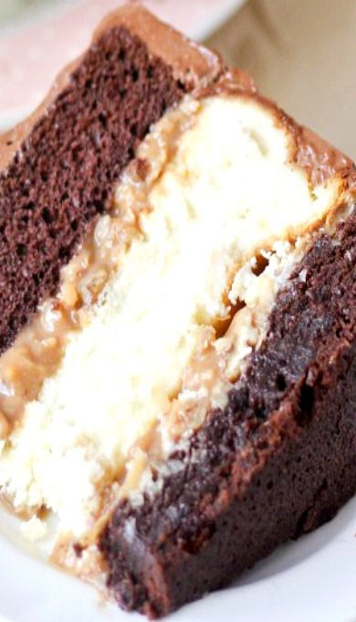 Copycat Chris' Outrageous Cheesecake (German Chocolate Cheesecake)