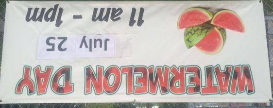 Watermelon Day at Triad Farmer's Market!