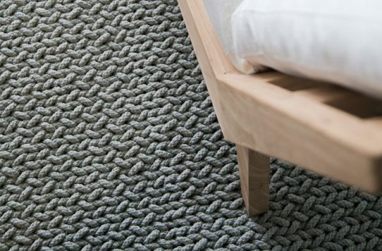 Our all natural hand woven cotton Fishtail weave. View + purchase this rug from: Our all natural hand woven cotton Fishtail weave. View + purchase this rug from: http://nodirugs.com/product/fish-tail-weave-marl-grey/