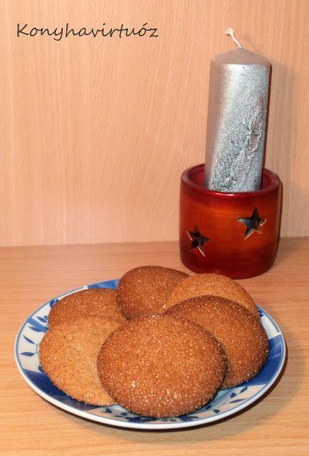 Konyhavirtuóz: Svéd gyömbéres keksz