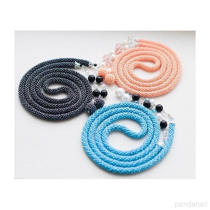 Handmade Seed Beads Beaded Necklaces  | PandaHall Beads Jewelry Blog