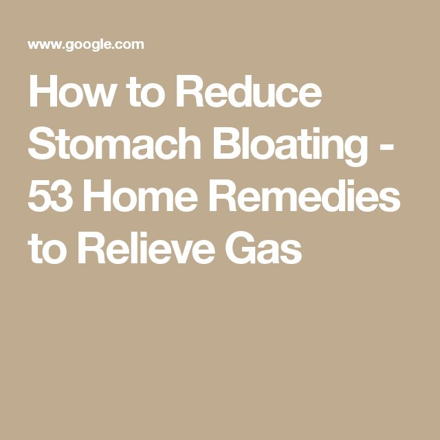 how to stop gas in stomach