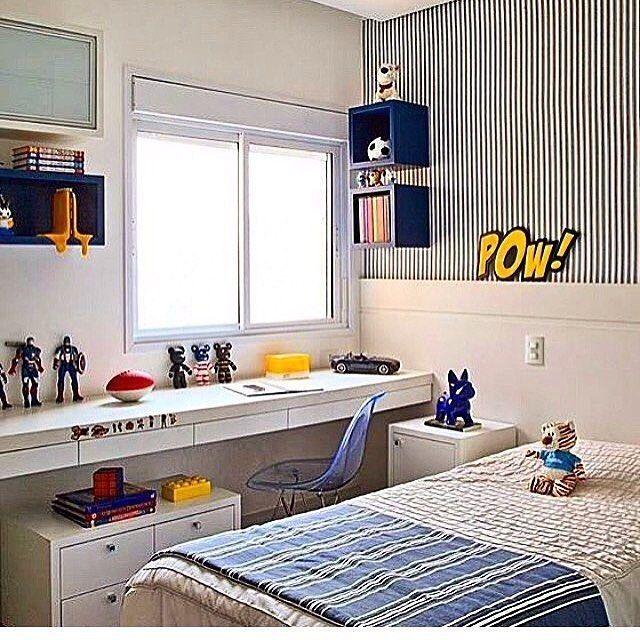 Inspiração De Quarto Pro Seu Filhão. #decor #decoracao #decoration  #interiordesign #