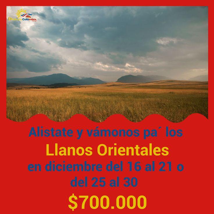 #preparatumaleta que nos fuimos pa' los Llanos con #losmejoresprecios de #disfrutacolombia #viajandoporcolombia