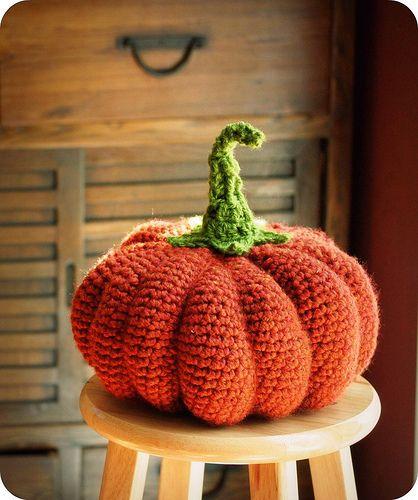 My Big Fat Cinderella Pumpkin. Free pattern.