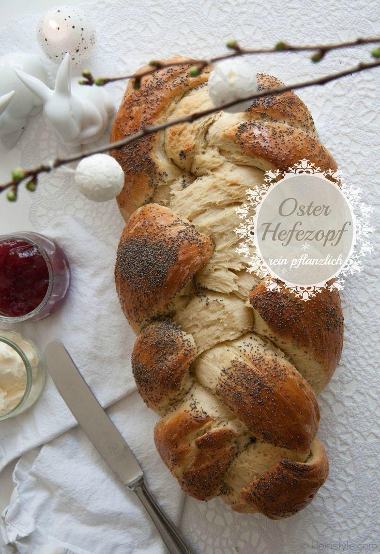 Food Friday : kein Ostern ohne Hefezopf! | vegan, pflanzlich, http://kleinstyle.com