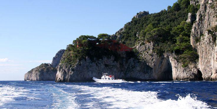 Villa Malaparte, Isola di Capri, Campania, Italy www.italyunfettered.com