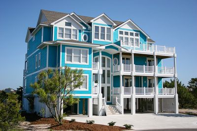 Avon vacation rentals kinnakeet sunset lakeside outer for Hatteras cabins rentals
