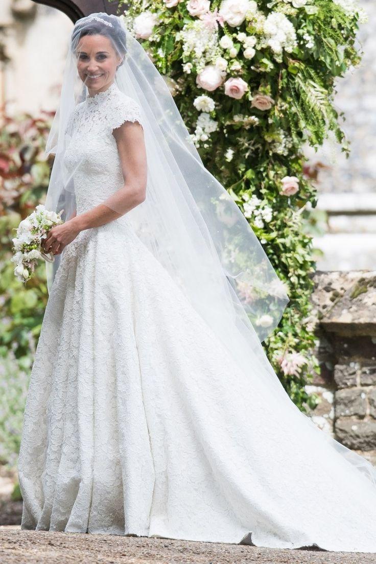 57 best celebrity wedding dresses images on pinterest celebrity pippa middletons wedding dress revealed ombrellifo Choice Image