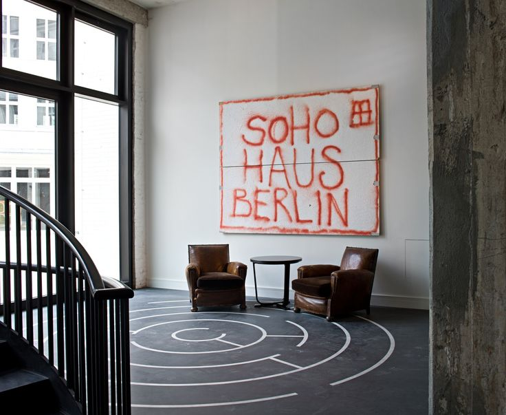 Michaelis Boyd Associates — Soho House, Berlin
