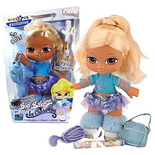 MGA Entertainment Bratz Big Babyz Ice Champions Series Exclusive 13 Inch Doll Set - VINESSA with Bag, Hairbrush and Mini Poster Bratz http://www.amazon.com/dp/B00MYQ76EG/ref=cm_sw_r_pi_dp_Te1qvb0JEK2X0