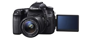 Canon Eos 70D, la nuova reflex semi-professionale con processore DIGIC 5 , sensore da 20 megapixel con tecnologia Dual Pixel, Wi-Fi integrato e scatto continuo da 7 fps.