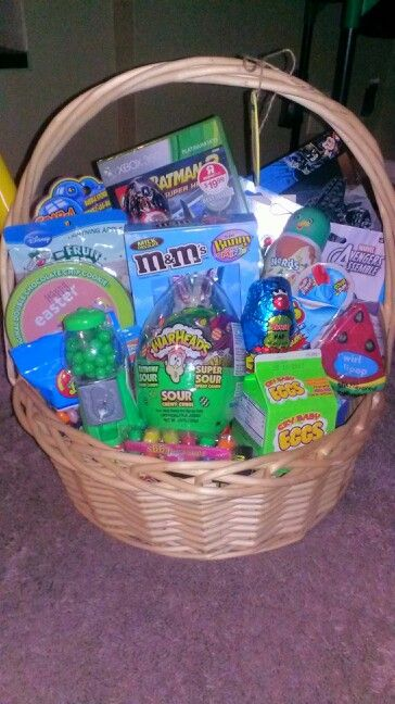 Easter Basket for a 5 year old