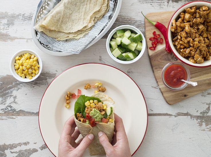 Receptfest: Nyttiga (och supergoda) tacos, mackor och snickersglass.