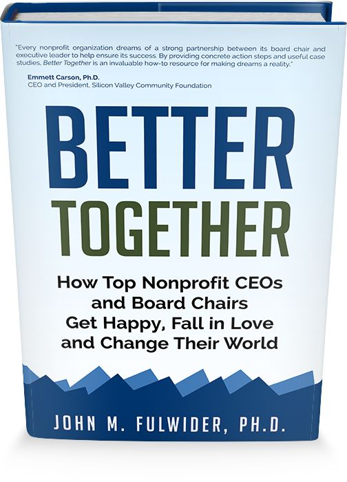 Laramie Board Learning Project: Better Together: New book explores healthy nonprofit board/CEO partnerships