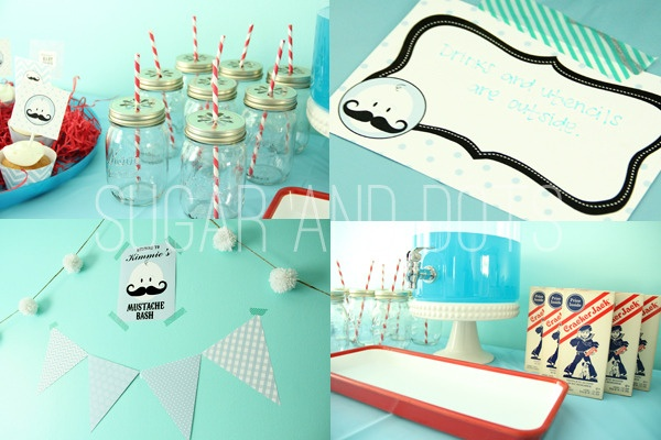 themes themed baby showers baby shower ideas boy shower mustache baby