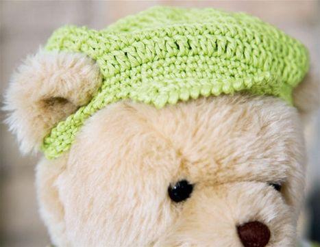 Strik selv: Build-a-bear sommerdragt og kasket - Hendes Verden