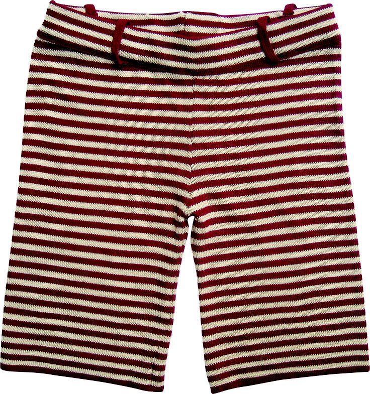 Bermuda stripe red and white. 100% cotton
