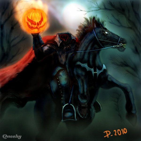 HEADLESS HORSEMAN ← A Fan-art Drawing