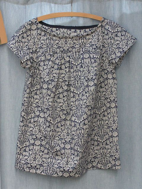 """simplicity 2147 in liberty """"theberton"""" by nicky austin, via flickr"""