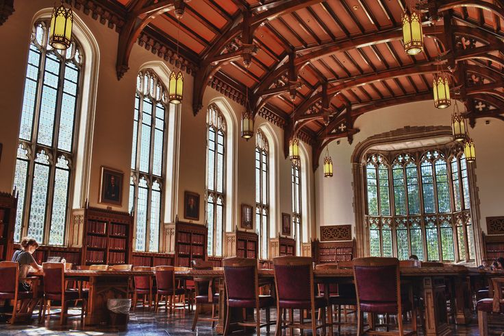The University of Oklahoma | The Great Reading Room, Bizzell Memorial Library