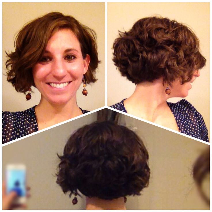 Trying to get back to the wavy layered bob hairstyle. Good ...